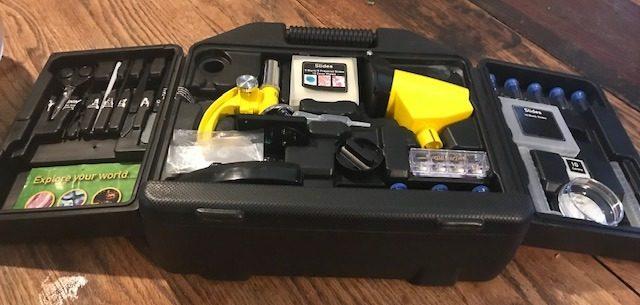 Microscope Kit came with Brine Shrimp Eggs